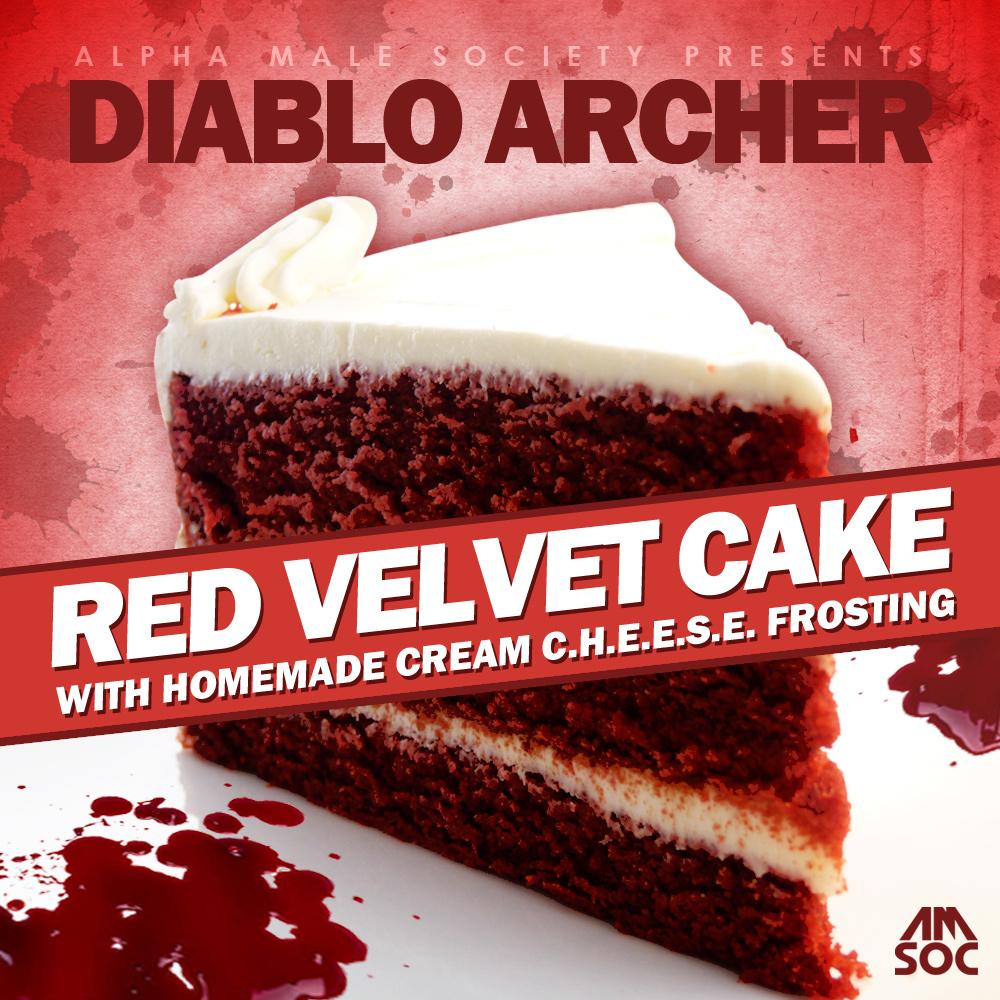 Diablo Archer Red Velvet Cake With Homemade Cream C.H.E.E.S.E. Frosting